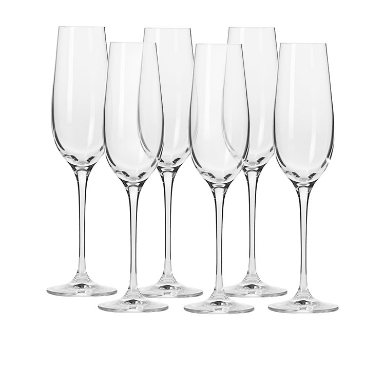 Krosno Harmony Champagne Flute 180ml Set of 6