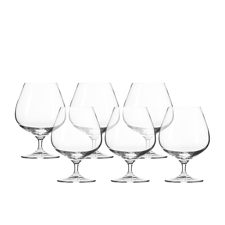Krosno Harmony Cognac Glass 550ml Set of 6