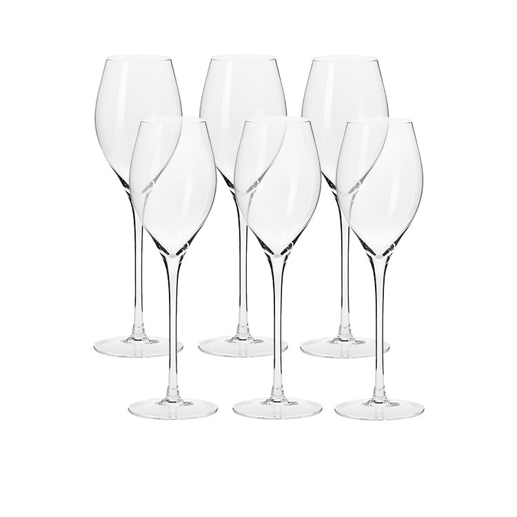 Krosno Harmony Prosecco Wine Glass 280ml Set of 6