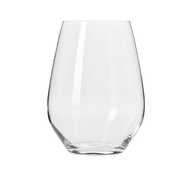 Krosno Harmony Stemless Wine Glass 540ml Set of 6 image #3