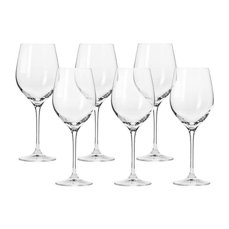 Krosno Harmony White Wine Glass 370ml Set of 6