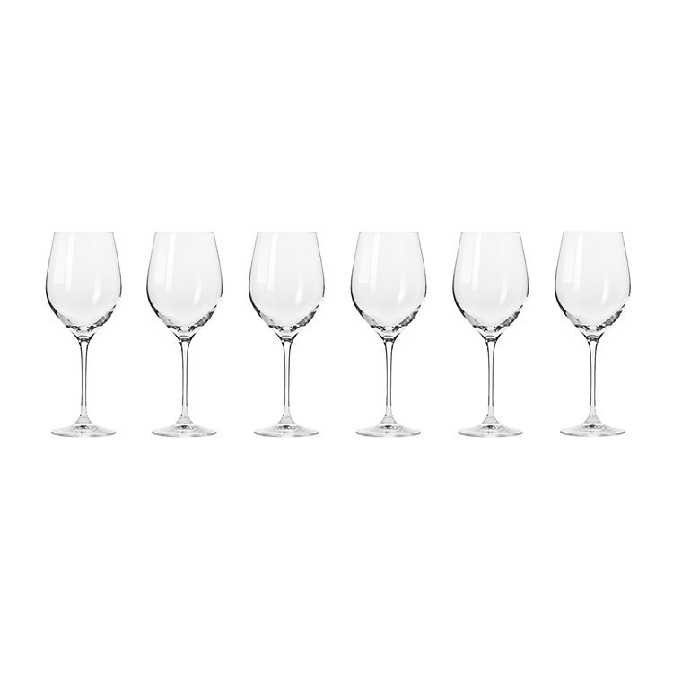Krosno Harmony White Wine Glass 370ml Set of 6 image #2