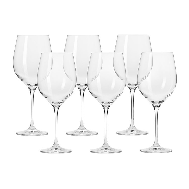 Krosno Harmony Red Wine Glass 450ml Set of 6