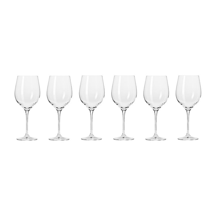 Krosno Harmony Red Wine Glass 450ml Set of 6