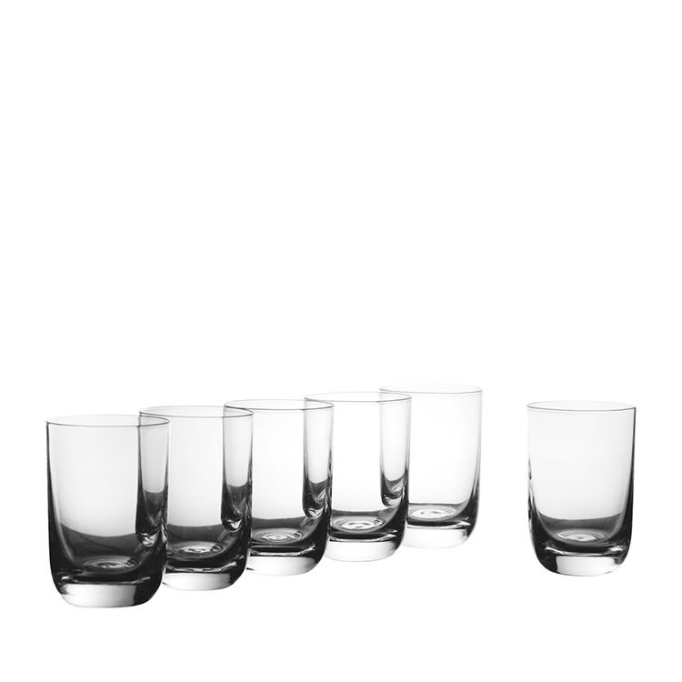 Krosno Pola Whisky Glass 300ml Set of 6