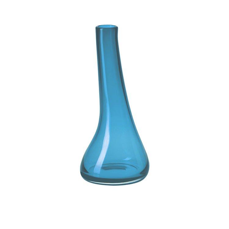Krosno Sashay Bulb Vase 30cm Sky Buy Now Save
