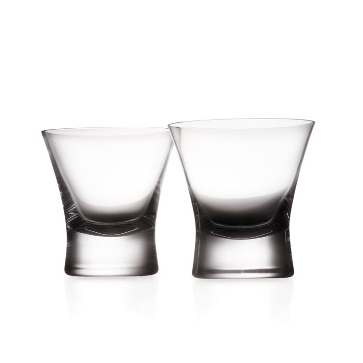 Krosno Vazrani Double Old Fashion Glass Set of 2