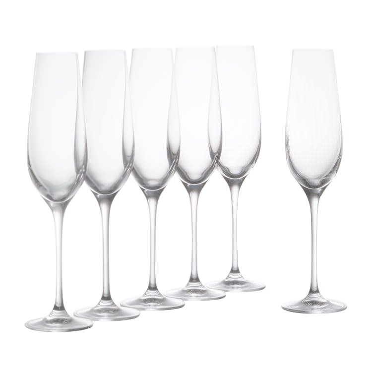 Krosno Vinoteca Champagne Flute 180ml Set of 6