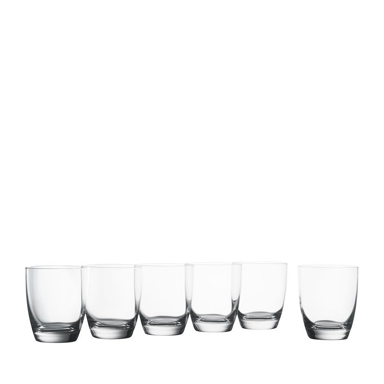 Krosno Vinoteca Double Old Fashioned  Glass Set of 6