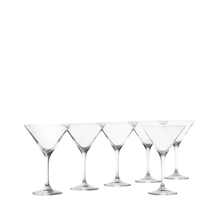 Krosno Vinoteca Martini Glass Set of 6