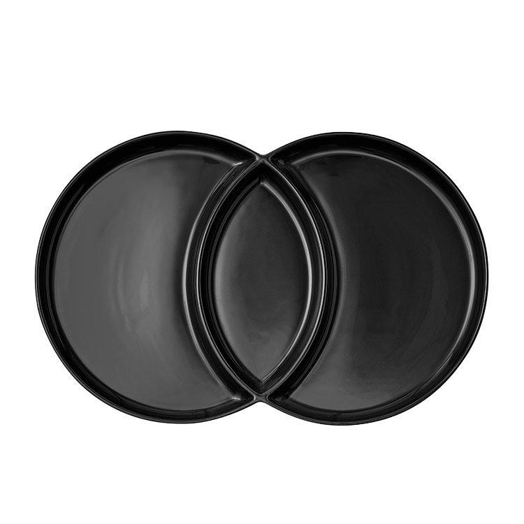 Ladelle Loop Platter Charcoal