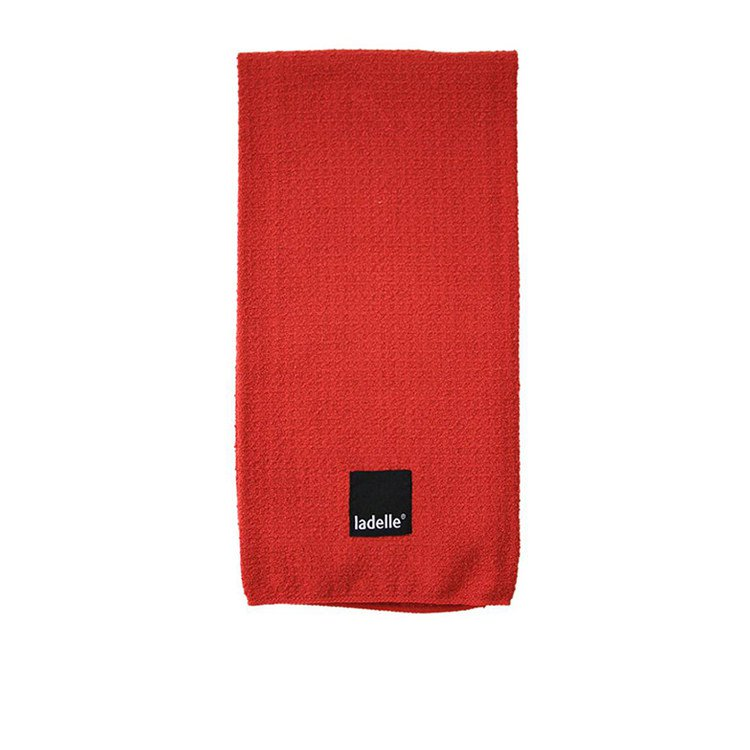 Ladelle Microfibre Glass Cloth Red