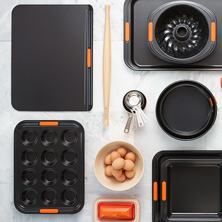 Le Creuset Toughened Non-Stick Insulated Cookie Tray 38cm
