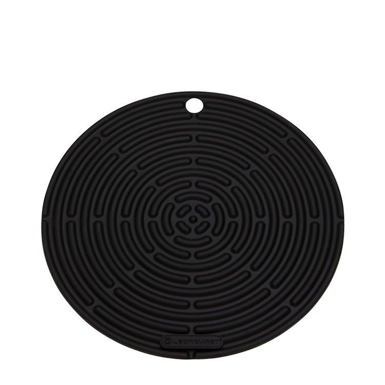 Le Creuset Silicone Cool Tool Round Mat 20cm Satin Black