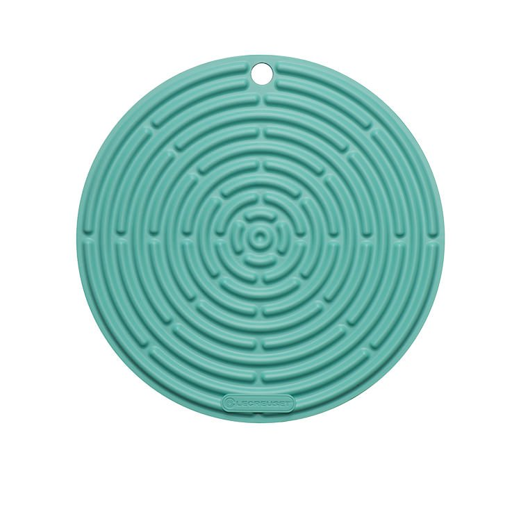 Le Creuset Silicone Cool Tool Round Mat 20cm Cool Mint