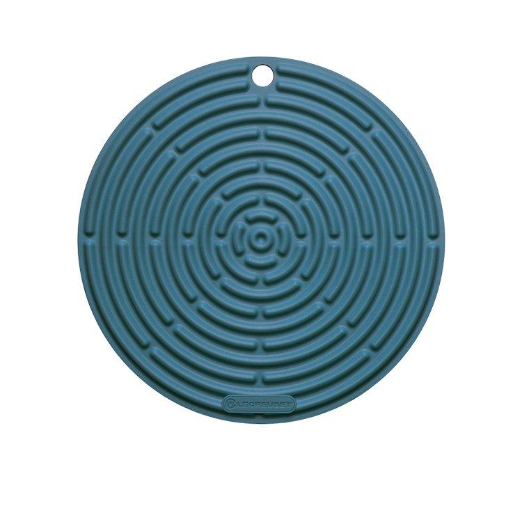 Le Creuset Silicone Cool Tool Round Mat 20cm Marine