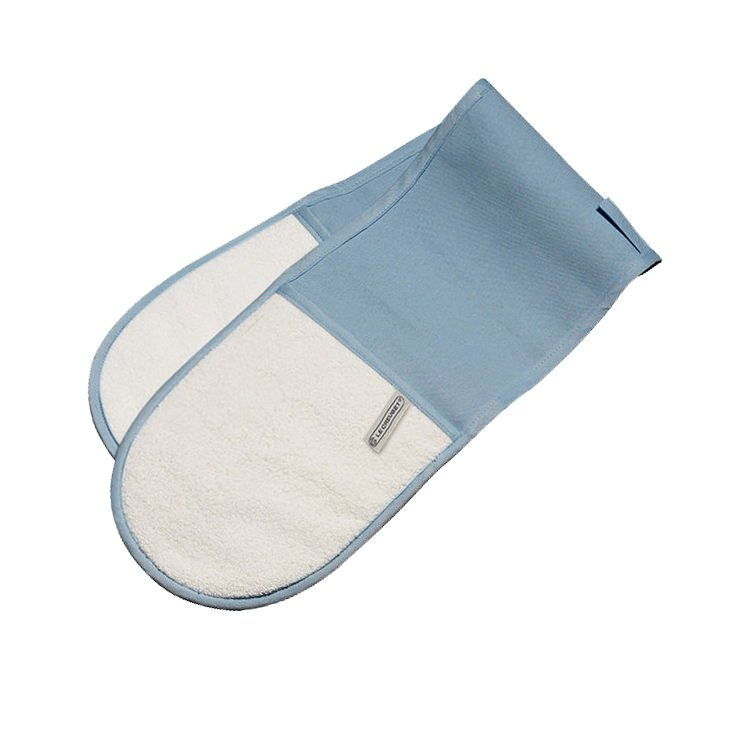 Le Creuset Double Oven Glove Coastal Blue