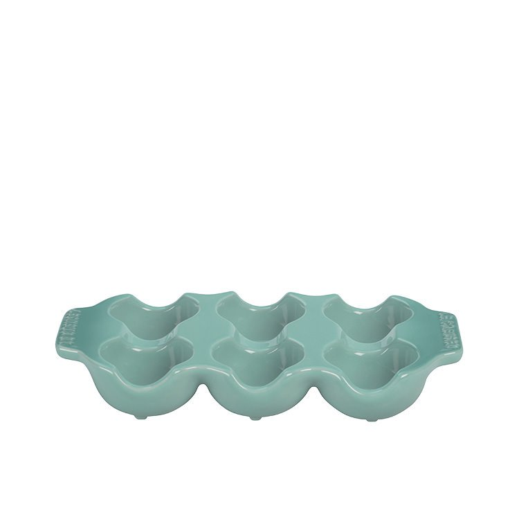 Le Creuset Stoneware Egg Tray Cool Mint