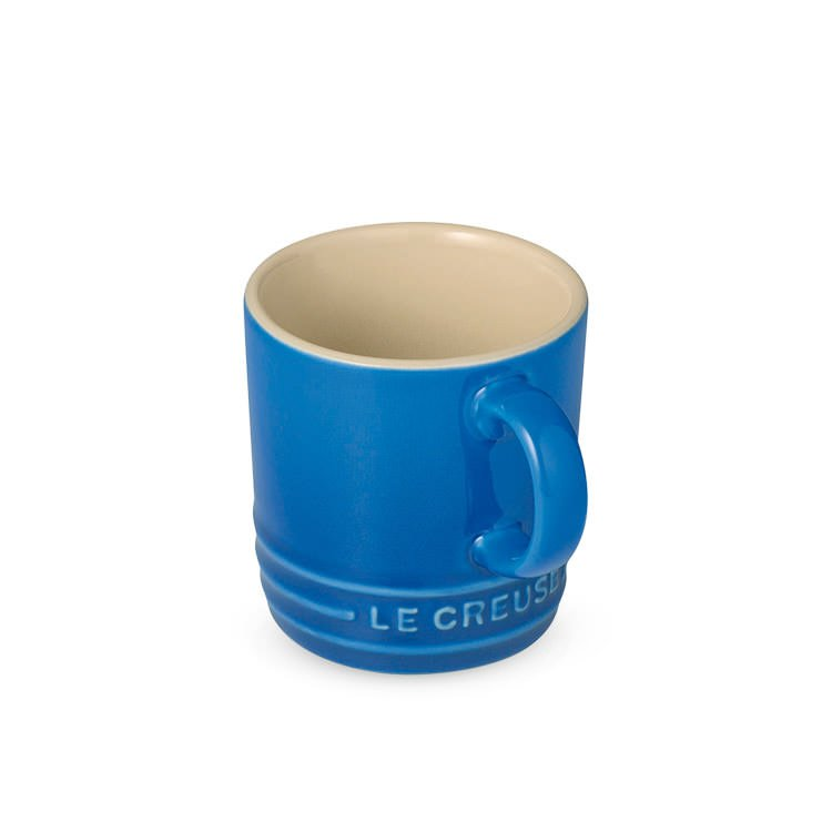 Le Creuset Stoneware Espresso Mug 100ml Marseille Blue