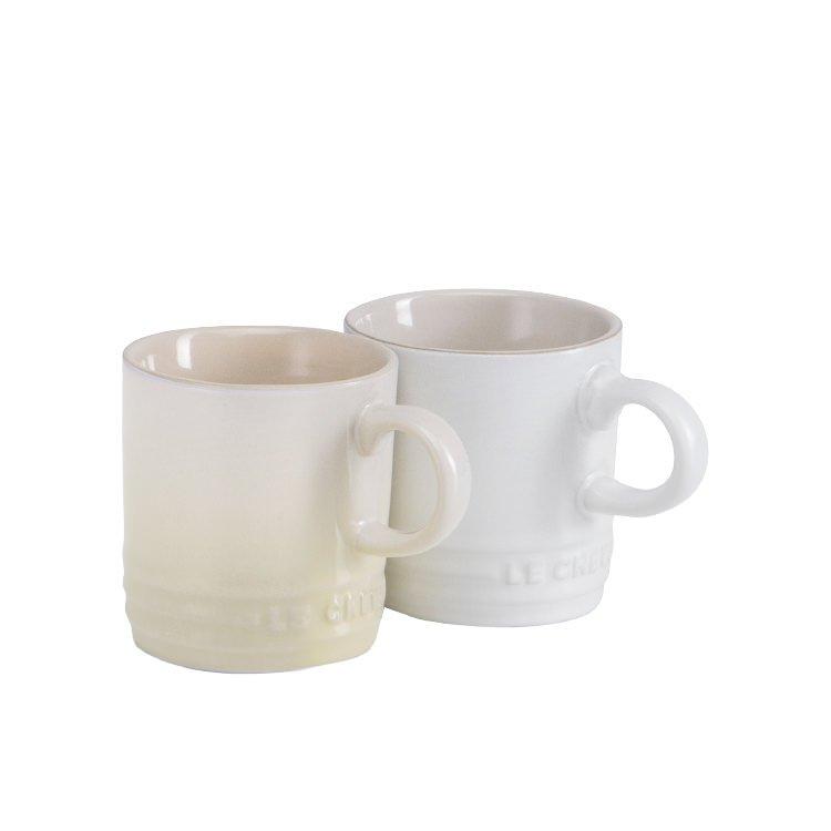 Le Creuset Stoneware Espresso Mug 100ml Set of 6 Sorbet