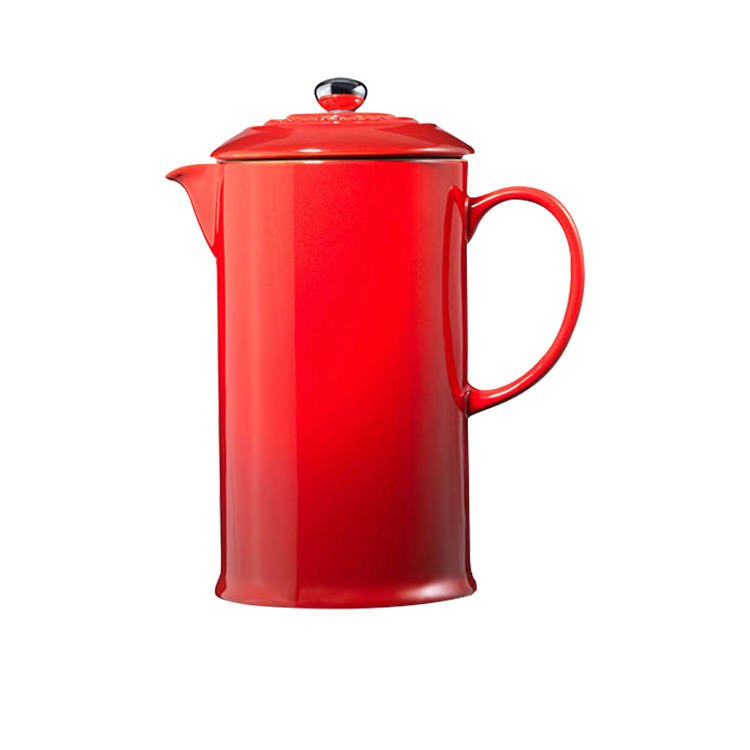 Le Creuset Stoneware French Coffee Press 800ml Cerise