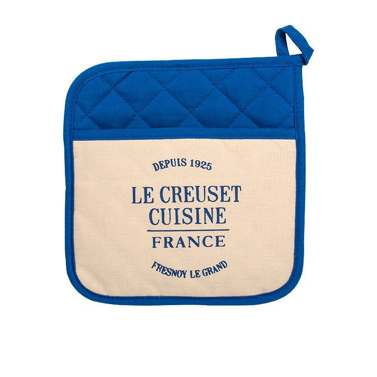 Le Creuset Heritage Pot Holder Marseille Blue
