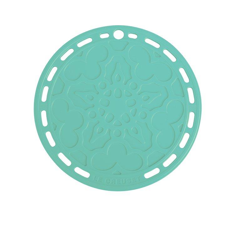 Le Creuset Heritage Silicone Trivet 20cm Cool Mint