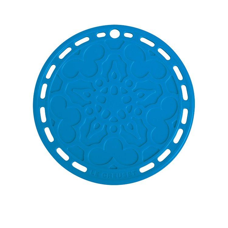 Le Creuset Heritage Silicone Trivet 20cm Marseille Blue