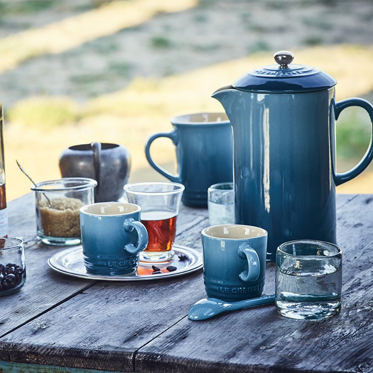 Le Creuset Stoneware Espresso Mug 100ml Marine