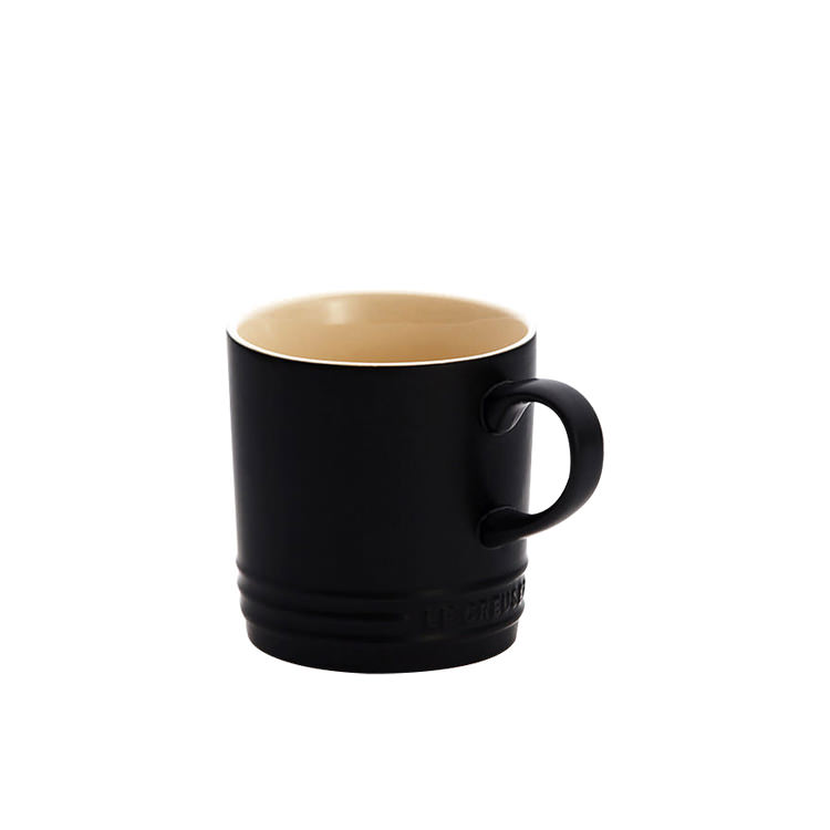 Le Creuset Stoneware Mug 200ml Satin Black