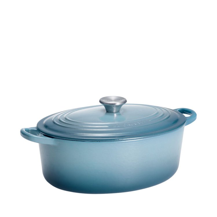 Le Creuset Oval French Oven 25cm - 3.2L Coastal Blue
