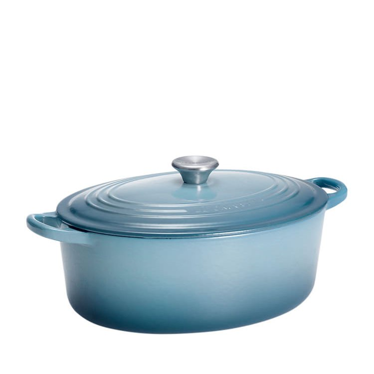 Le Creuset Oval French Oven 29cm - 4.7L Coastal Blue