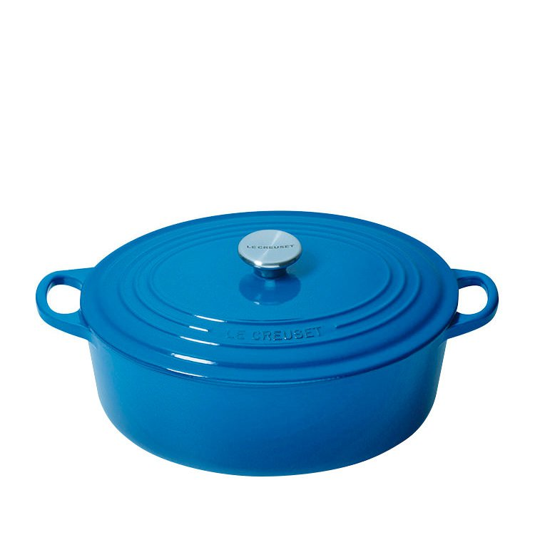 Le Creuset Oval French Oven 29cm - 4.7L Marseille Blue