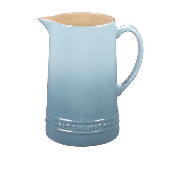 Le Creuset Stoneware Pitcher 1.5L Coastal Blue