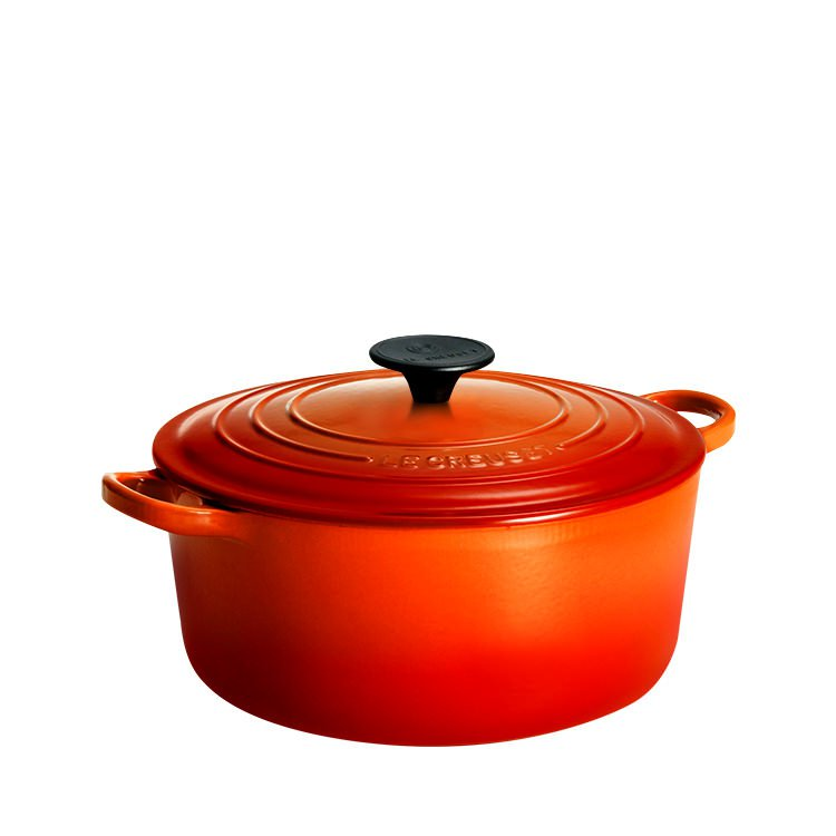 Le Creuset Round French Oven 20cm - 2.4L Volcanic