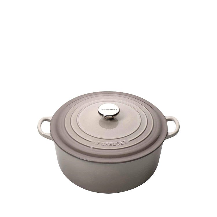 Le Creuset Round French Oven 24cm - 4.2L Nutmeg