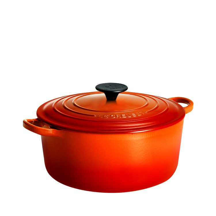 Le Creuset Round French Oven 24cm - 4.2L Volcanic