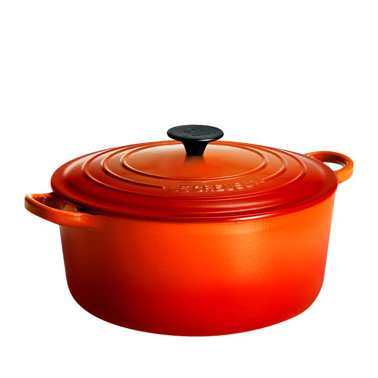 Le Creuset Round French Oven 28cm - 6.7L Volcanic