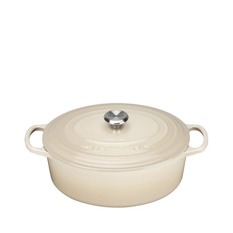 Le Creuset Signature Oval French Oven 27cm - 4.1L Dune