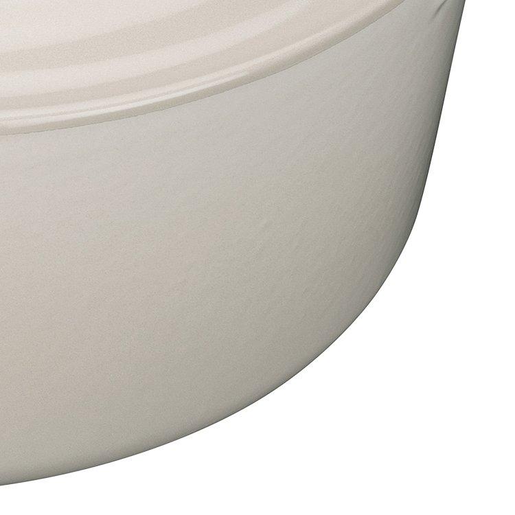 Le Creuset Signature Cast Iron Round Casserole 24cm - 4.2L Creme