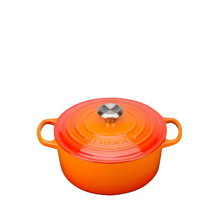 Le Creuset Signature Round French Oven 24cm - 4.2L Volcanic