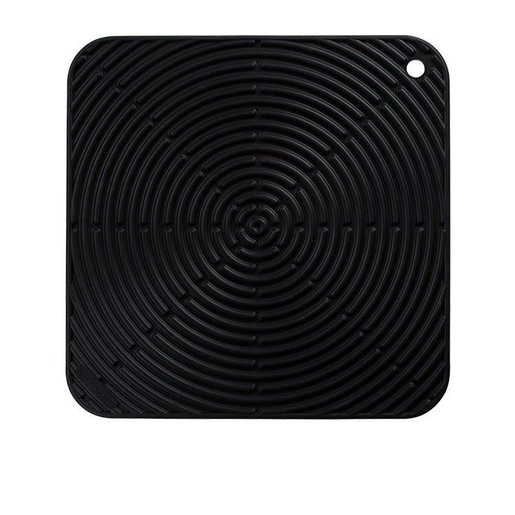 Le Creuset Silicone Cool Tool Square Mat 29cm Satin Black