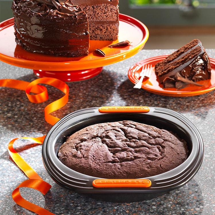 Le Creuset Toughened Non-Stick Sponge/Sandwich Cake Tin 20x4cm