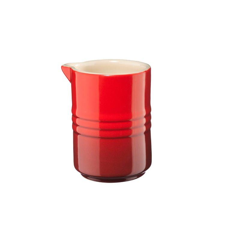 Le Creuset Stoneware Stackable Milk Jug 150ml Cerise