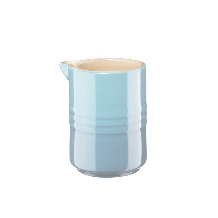 Le Creuset Stoneware Stackable Milk Jug 150ml Coastal Blue