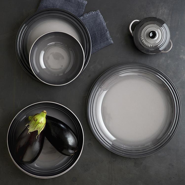 Le Creuset Stoneware Cereal Bowl 16cm Set of 4 Flint image #4