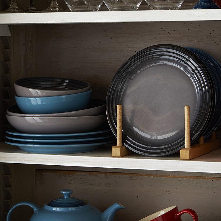 Le Creuset Stoneware Cereal Bowl 16cm Set of 4 Flint image #6