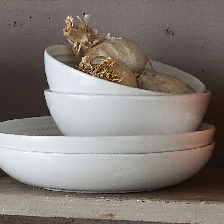 Le Creuset Stoneware Cereal Bowl 16cm Set of 4 White