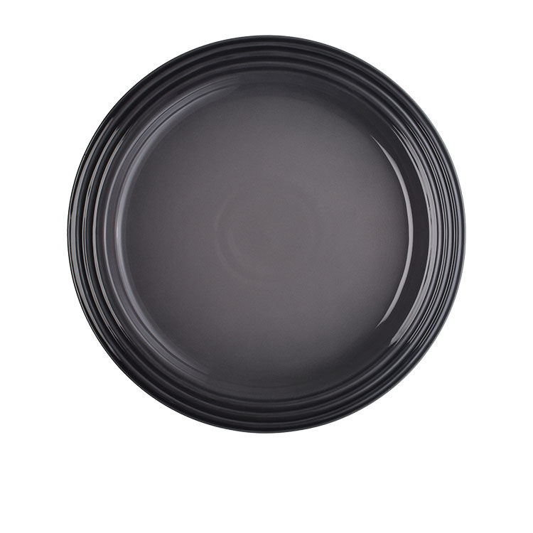 Le Creuset Stoneware Dinner Plate 27cm Set of 4 Flint image #2