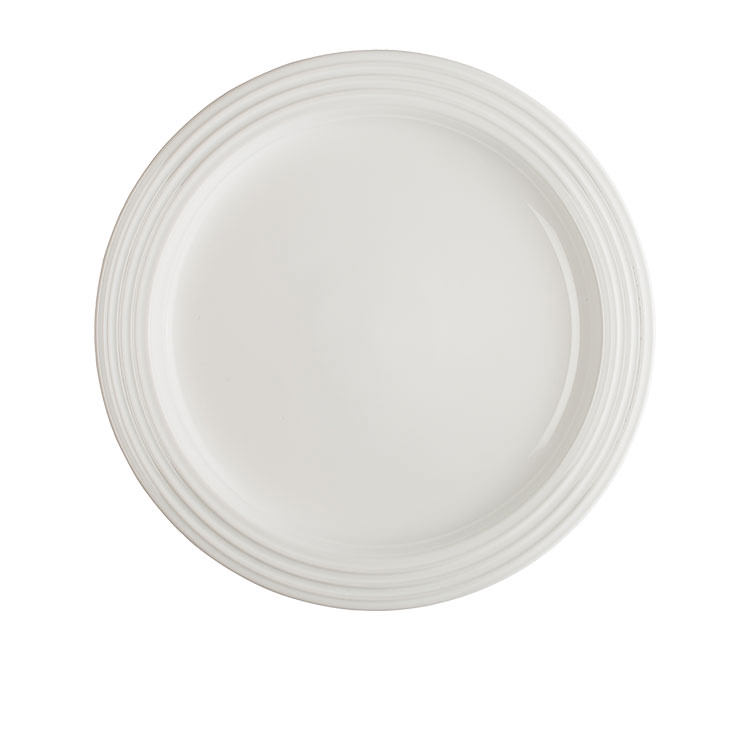 Le Creuset Stoneware Dinner Plate 27cm Set of 4 White